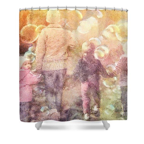 Finding Neverland Shower Curtain