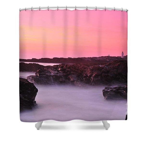 Fine Art Water 11 Shower Curtain