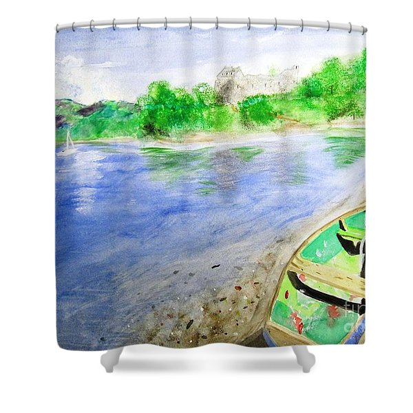 Dunstaffnage Shower Curtain