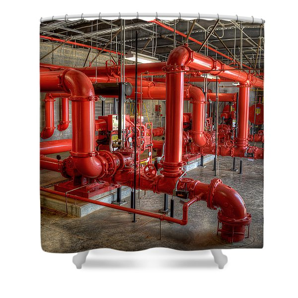 Fire Pump Room 2 Shower Curtain