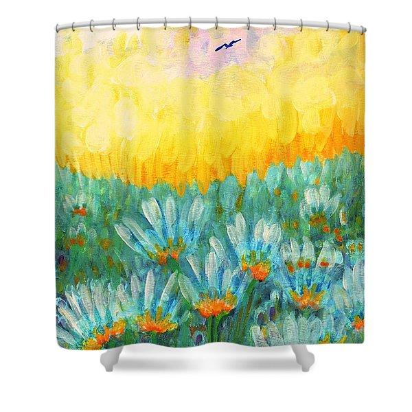 Firelight Shower Curtain
