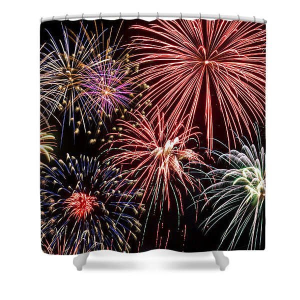Fireworks Spectacular IIi Shower Curtain