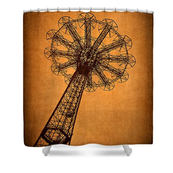 Firey Inspiration Shower Curtain