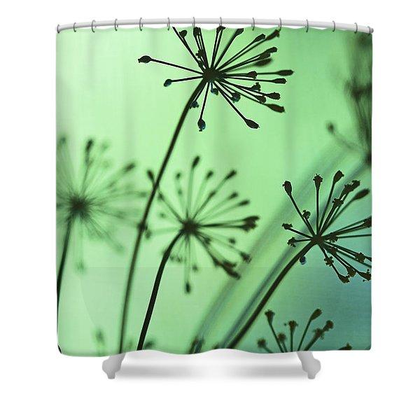 Firing Neurons Shower Curtain