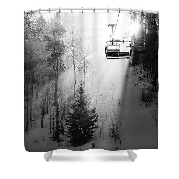 First Chair Shower Curtain
