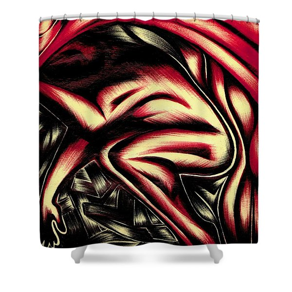 First Embrace Shower Curtain