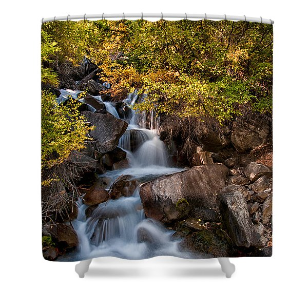 First Falls Shower Curtain