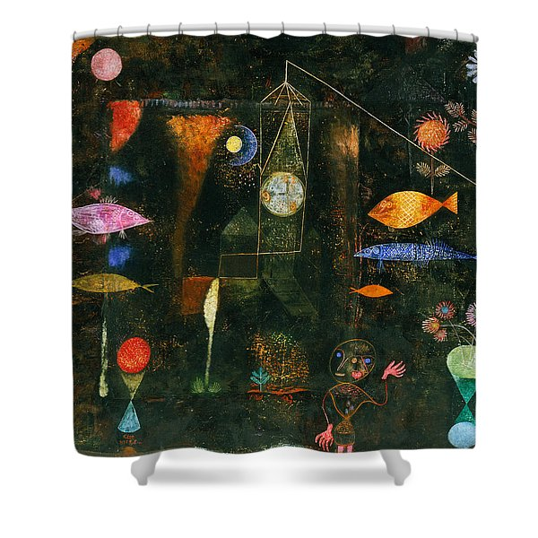 Fish Magic Shower Curtain
