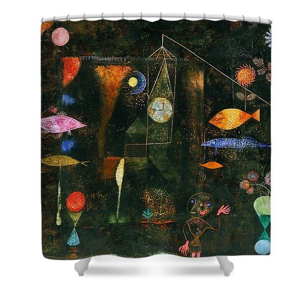 Fish Magic Shower Curtain