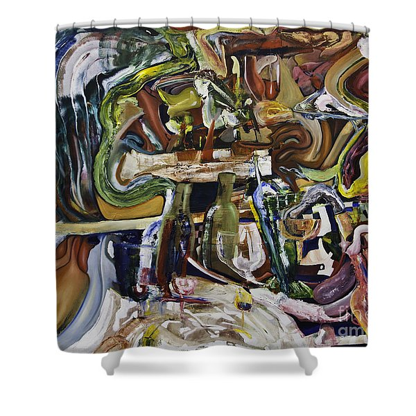 Fish Supper Shower Curtain