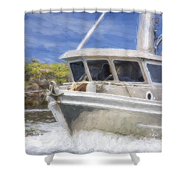 Fisherman's Prayer - West Coast Art Shower Curtain