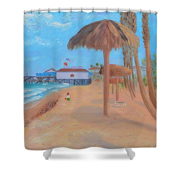 Fisherman's Resturant Shower Curtain
