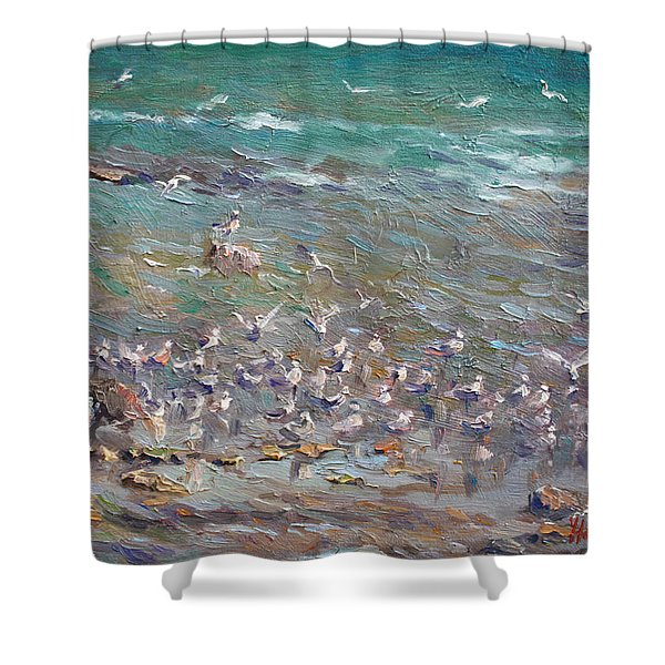 Fishing Time Shower Curtain