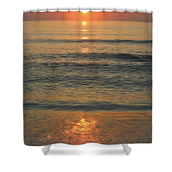 Flagler Beach Sunrise Shower Curtain