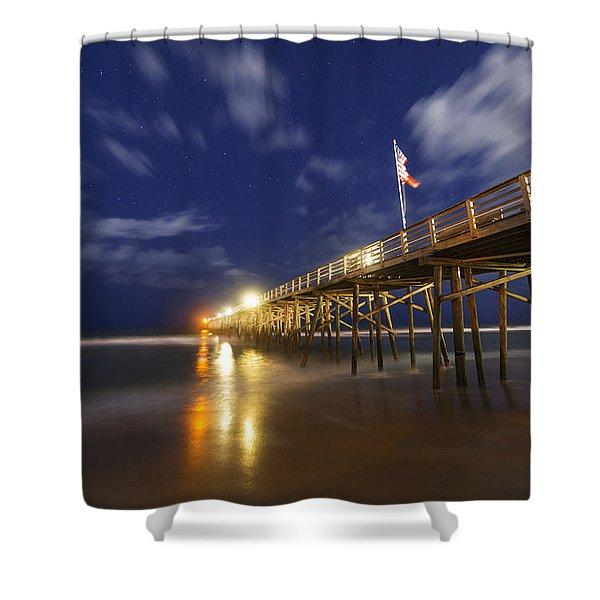 Flagler Pier Shower Curtain