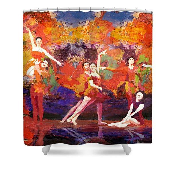Flamenco Dancer 022 Shower Curtain