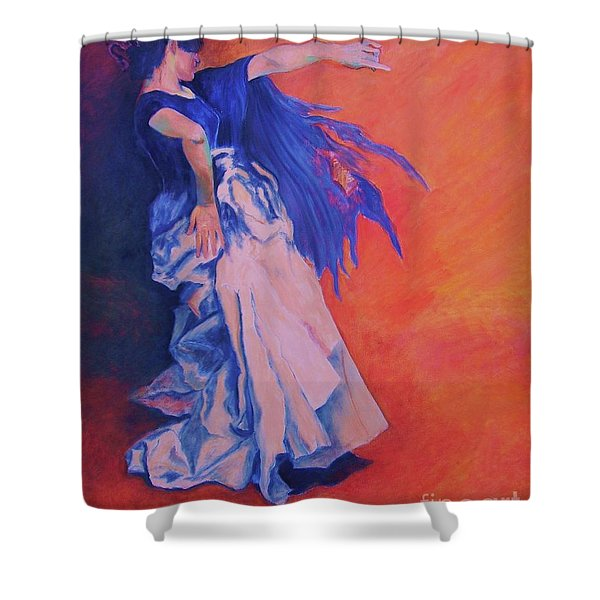 Flamenco-john Singer-sargent Shower Curtain