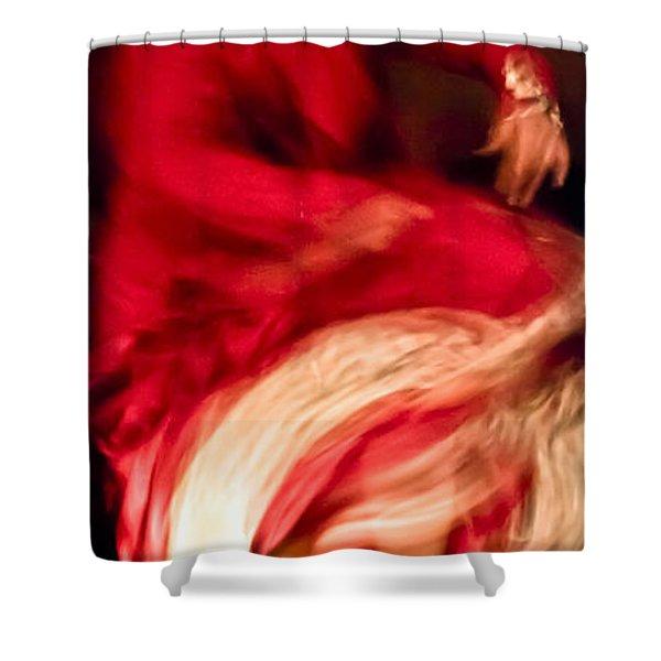 Flamenco Series 1 Shower Curtain