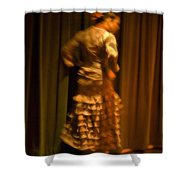 Flamenco Series 14 Shower Curtain