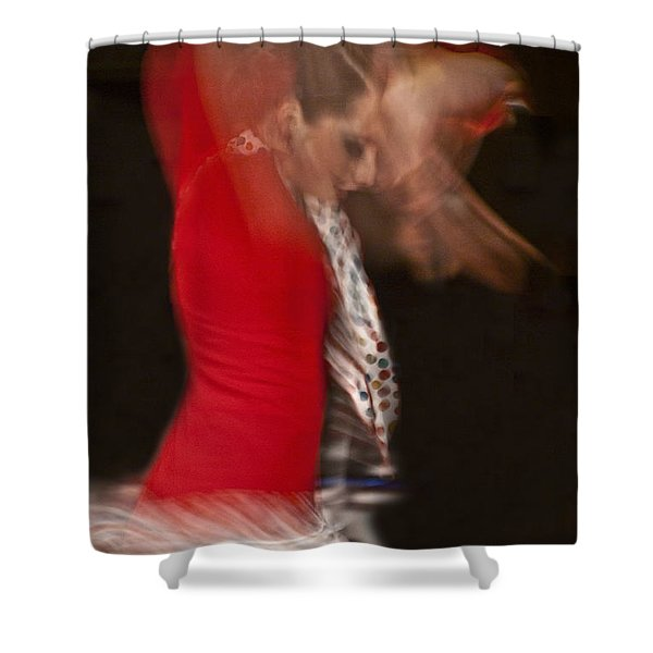 Flamenco Series 3 Shower Curtain