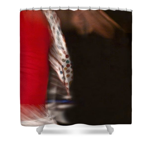 Shower Curtain featuring the photograph Flamenco Series 3 by Catherine Sobredo