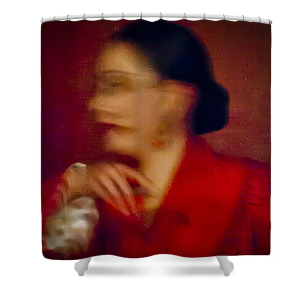Flamenco Series 4 Shower Curtain