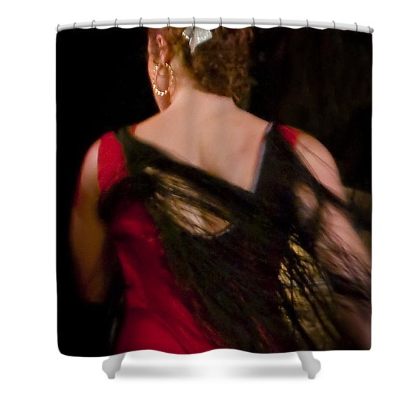 Flamenco Series 6 Shower Curtain