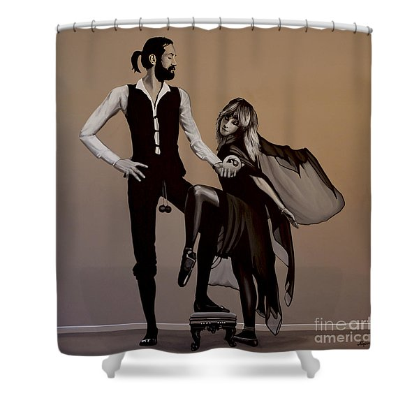 Fleetwood Mac Rumours Shower Curtain