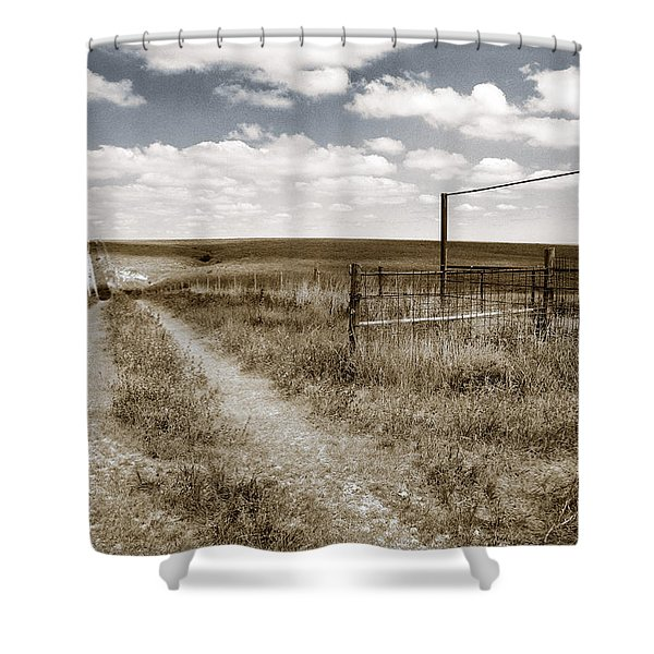 Flint Hills Country Shower Curtain