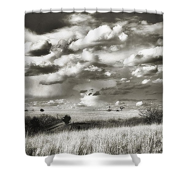 Flint Hills Prairie Shower Curtain