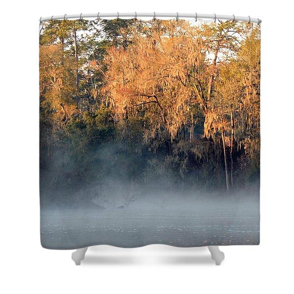 Flint River 14 Shower Curtain