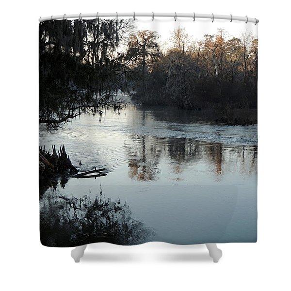 Flint River 20 Shower Curtain
