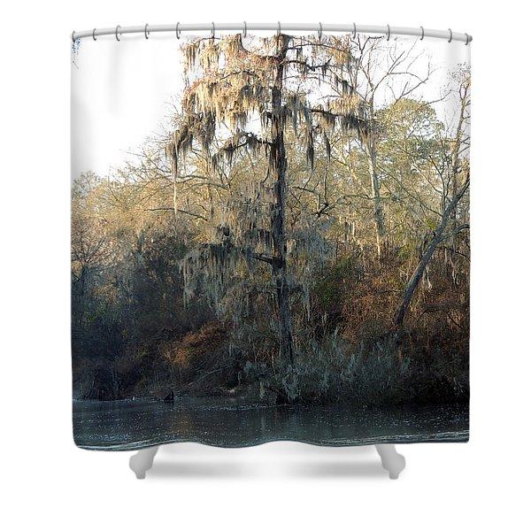Flint River 30 Shower Curtain
