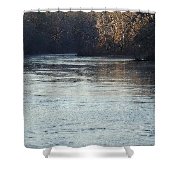 Flint River 31 Shower Curtain