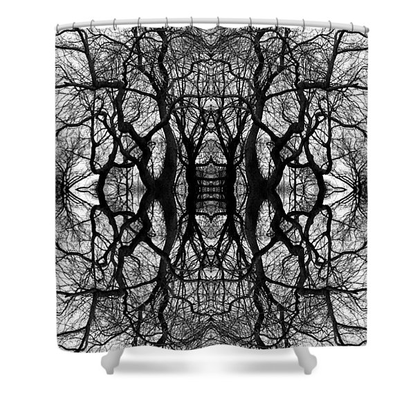 Tree No. 11 Shower Curtain
