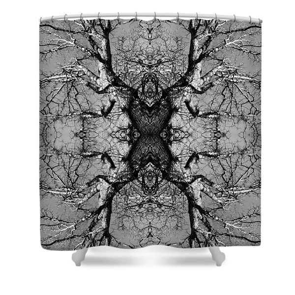 Tree No. 3 Shower Curtain