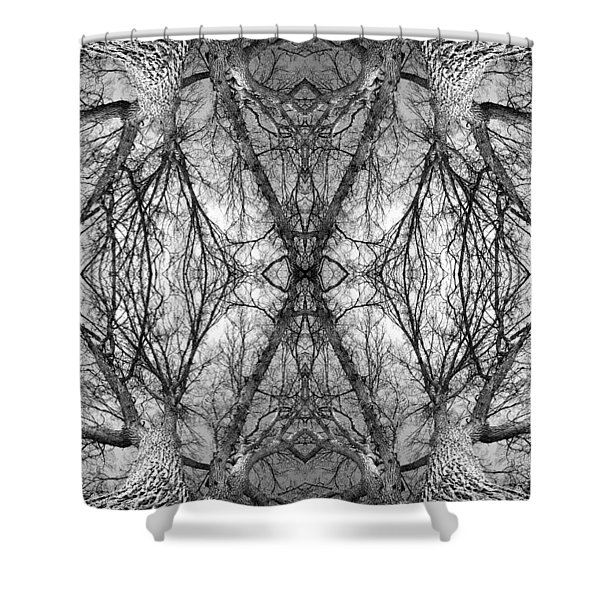 Tree No. 7 Shower Curtain