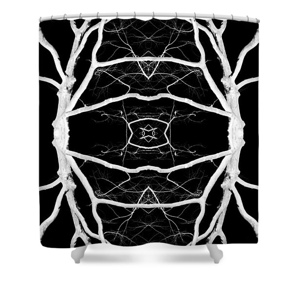 Tree No. 8 Shower Curtain