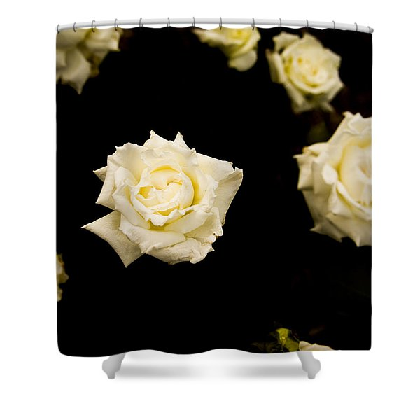 Floating In Darkness Shower Curtain