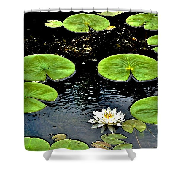 Floating Lily Shower Curtain