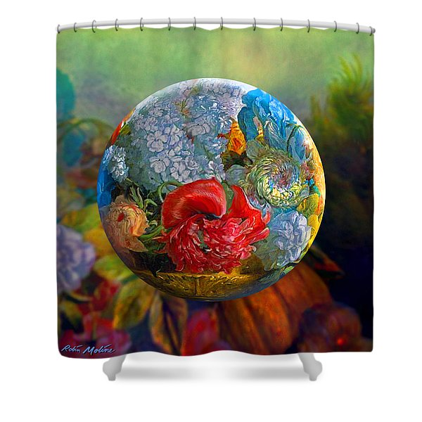Floral Ambrosia Shower Curtain