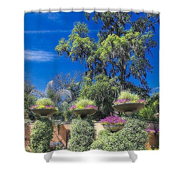 Flower Garden 04 Shower Curtain