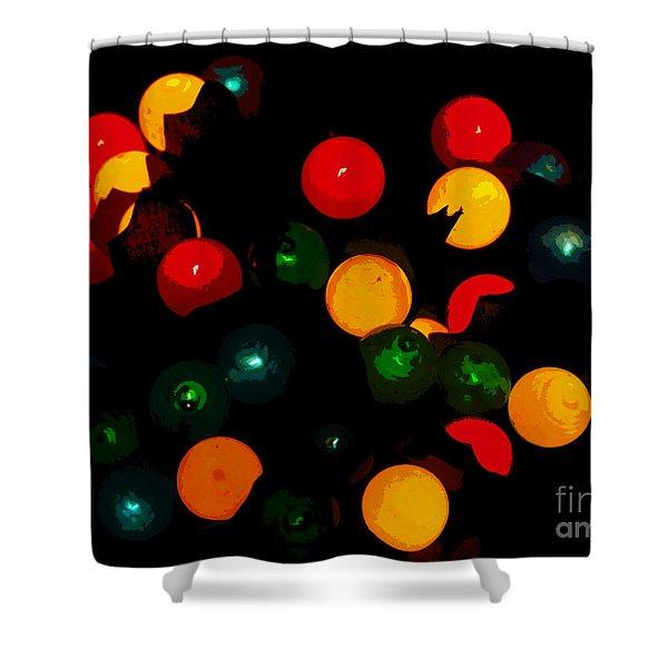 Flower Light Bunch Shower Curtain