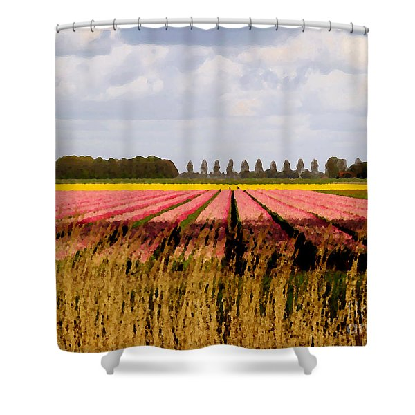 Flower My Bed Shower Curtain