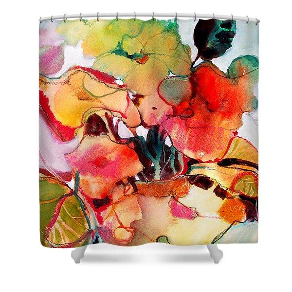 Flower Vase No. 2 Shower Curtain