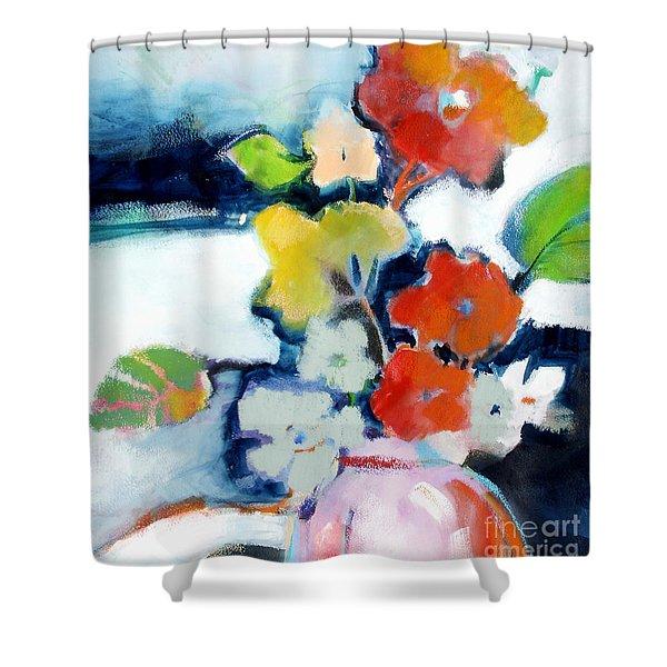 Flower Vase No.1 Shower Curtain