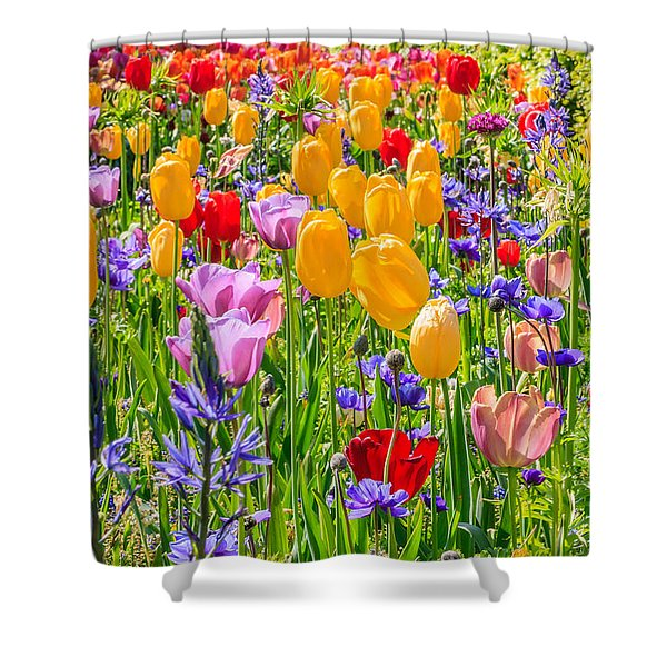 Flowers Everywhere Shower Curtain