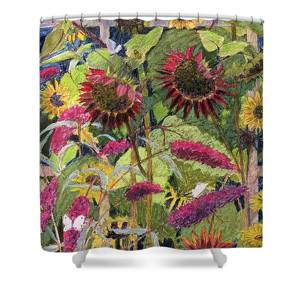 Flowers Of The Sun Shower Curtain
