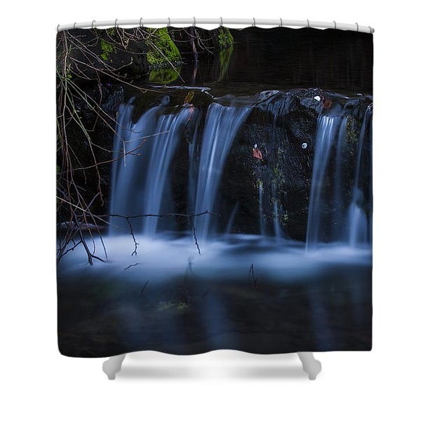 Flowing Beauty Shower Curtain