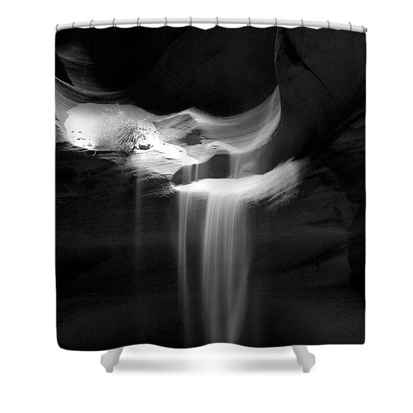 Flowing Sand In Antelope Canyon Shower Curtain